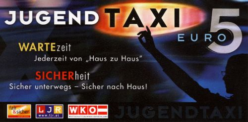Jugendtaxi in Stadtschlaining
